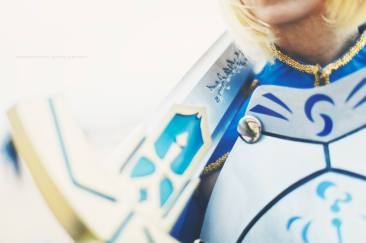 Saber Pendragon Sword Fate Grand Order by Artoria Grey Cosplay