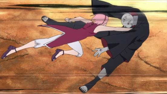 Sakura smacks Shin
