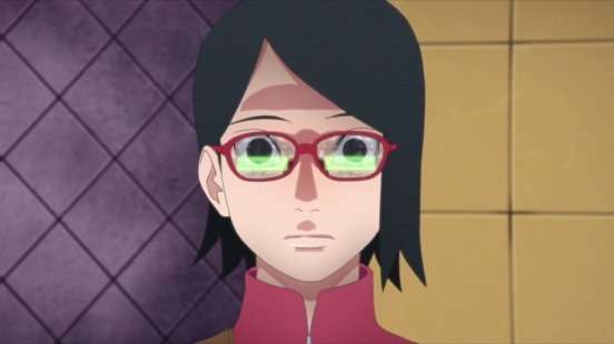 Sarada learns about her mother