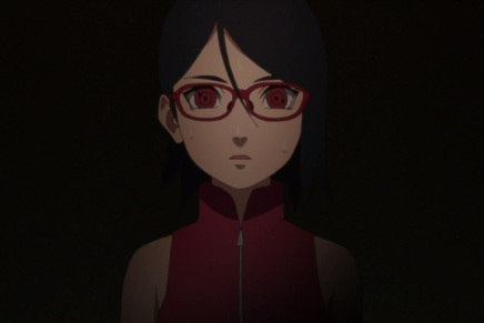 Sarada meets Sasuke! Naruto Protects – Boruto20