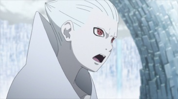 Shin angry at Sasuke