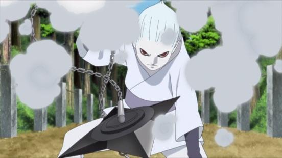 Shin's weapon