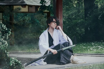 Aizen Sosuke Cosplay by J-Melmoth