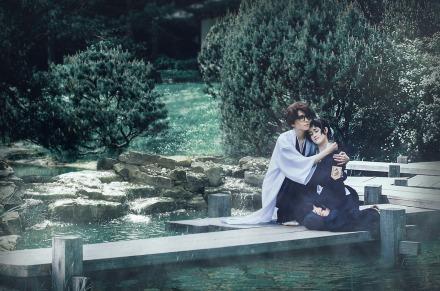Bleach Momo Hinamori Aizen Sosuke Cosplay by J-Melmoth