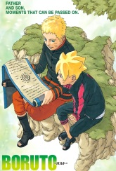 Boruto and Naruto learning