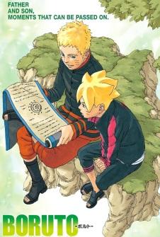 Boruto and Naruto learning