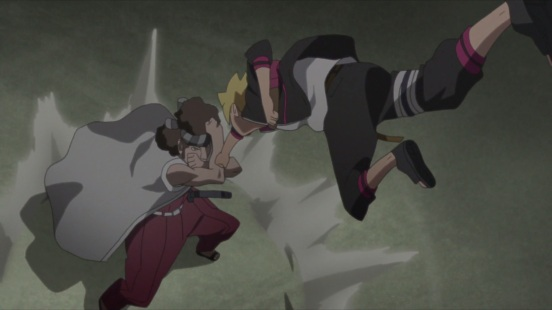 Boruto faces trouble