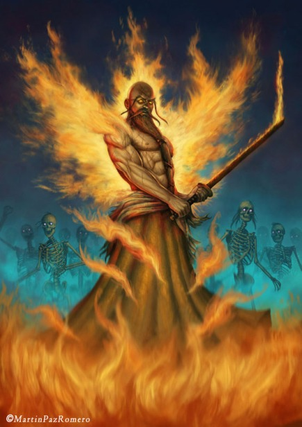 God of Fire – Genryusai ShigekuniYamamoto