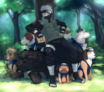 Master of the Puppies – Hatake Kakashi