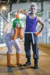 Kensei and Mashiro Bleach by SceneCreator