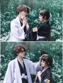 Momo Hinamori Aizen Sosuke Bleach Cosplay by J-Melmoth