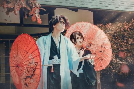 Momo Hinamori Aizen Sosuke Cosplay by J-Melmoth