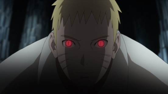 Naruto gets serious