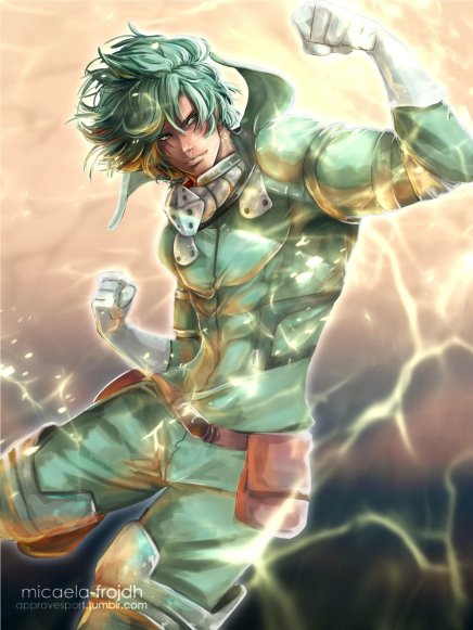 One For All – Izuku Midoriya