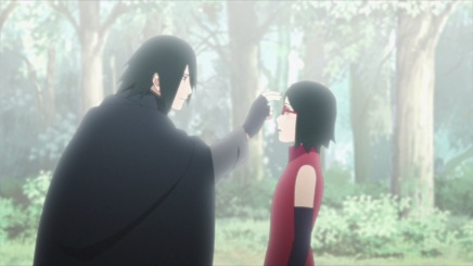 Sasuke and Sakura's Feelings! Sarada Follows Hokage – Boruto 23