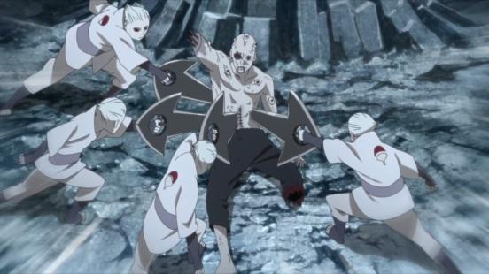 Shin betrayed by clones