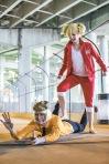 Shinji and Hiyori Bleach by SceneCreator