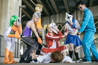 Vizard Cosplay Group Bleach stop Ichigo by SceneCreator