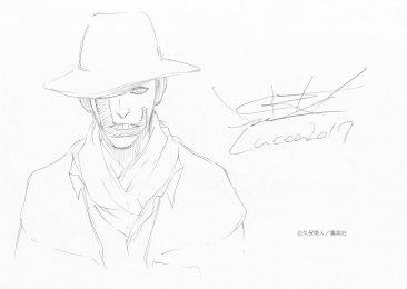 Mayuri Kurotsuchi Tite Kubo Drawing Lucca