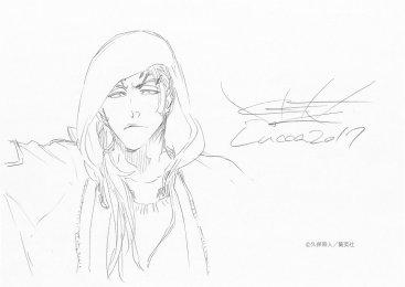 Renji Abarai Tite Kubo Drawing Lucca